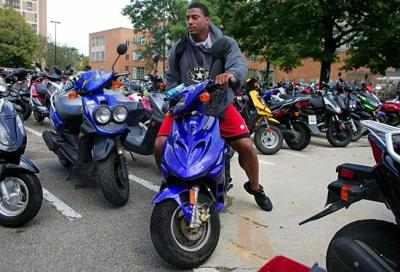UW football moped, Clay