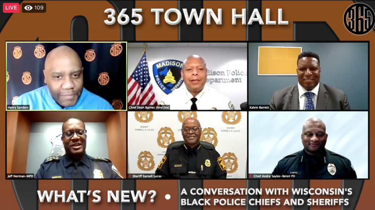 Madison365 law enforcement town hall