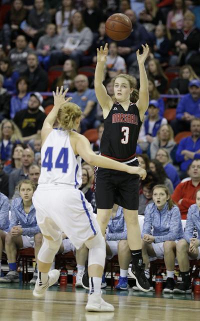 Prep girls basketball photo: Marshall's Anna Lutz