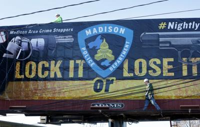 Madison police roll out new billboard campaign