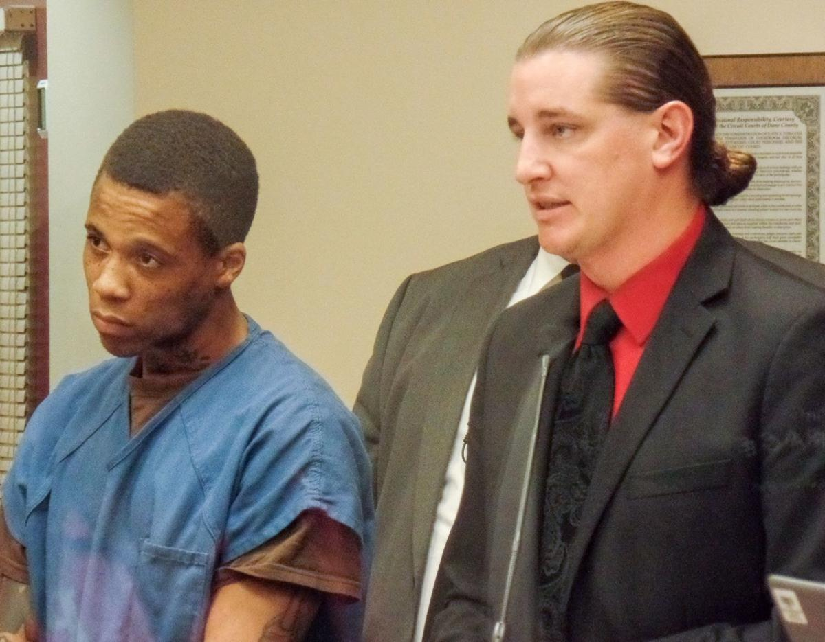 Duan Briggs in court