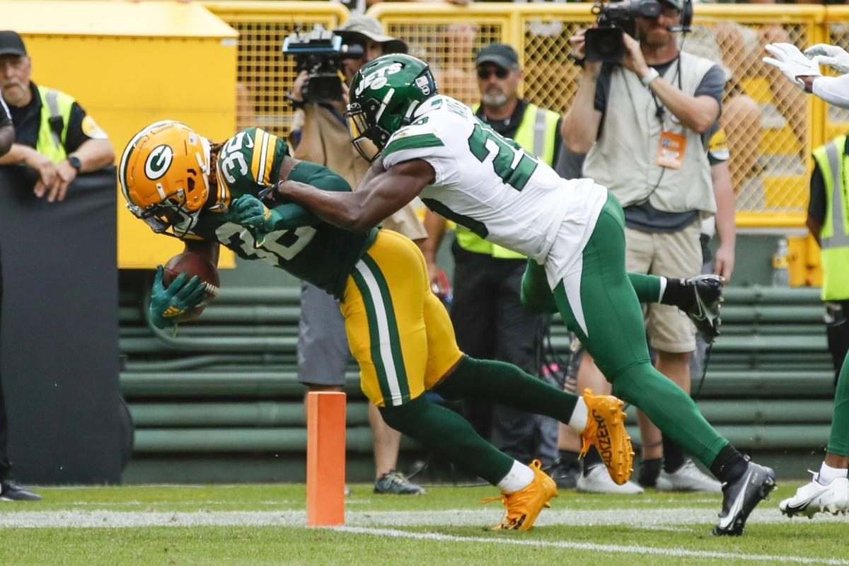 Jets Packers Football