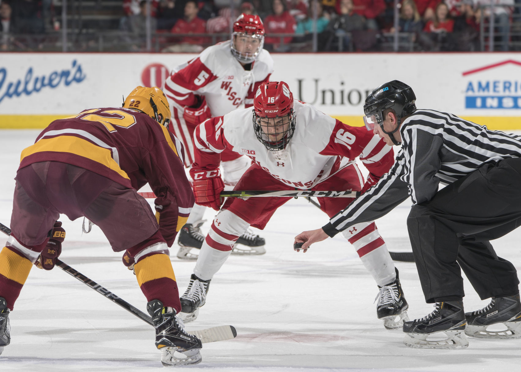 BIG10: With No Runaway Leader This Season, Big Ten Men's Hockey Title Up For Grabs In Second Half