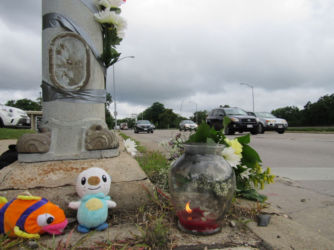 Memorial for boy who died in bike crash July 13, 2015