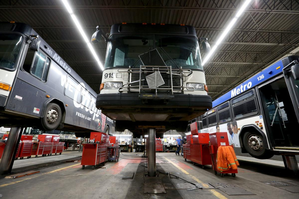 Metro Transit bus maintenance