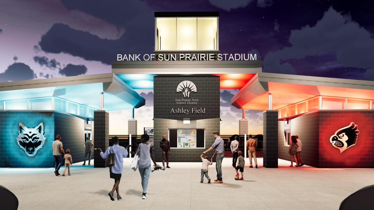 BANK of sun prairie at ashley field