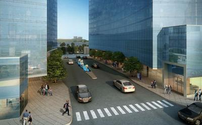 Judge Doyle Square rendering