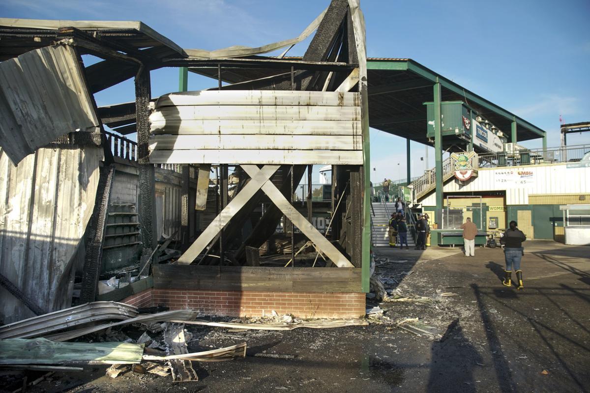 Madison Mallards Pro Shop fire 3