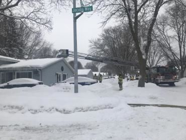 Madison duplex fire 1