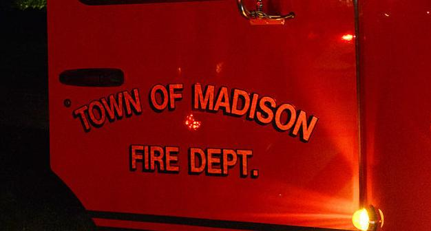 Town of Madison fire truck