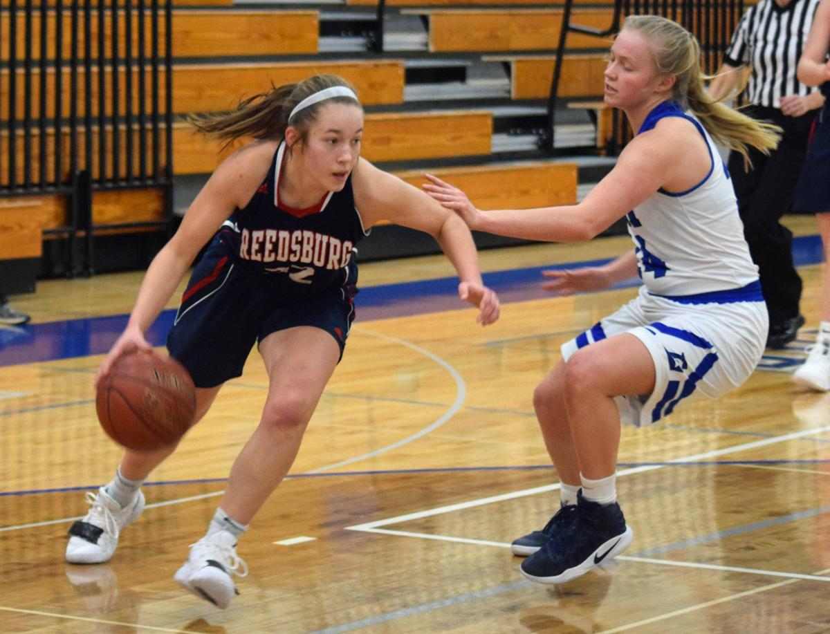 Prep girls basketball photo: Reedsburg's Trenna Cherney