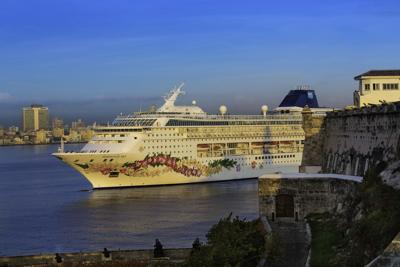 Norwegian Sky arrived in Cuba in May 2017, the line's first foray into what was then a promising Cuban cruise market.