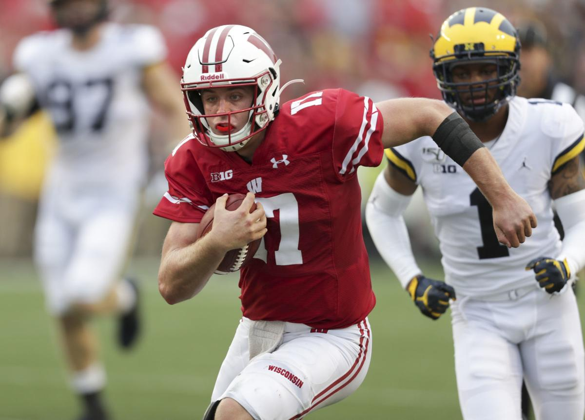 Badgers 35, Wolverines 14