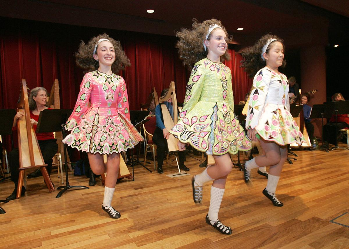 Trinity Academy of Irish Dance dancers 2