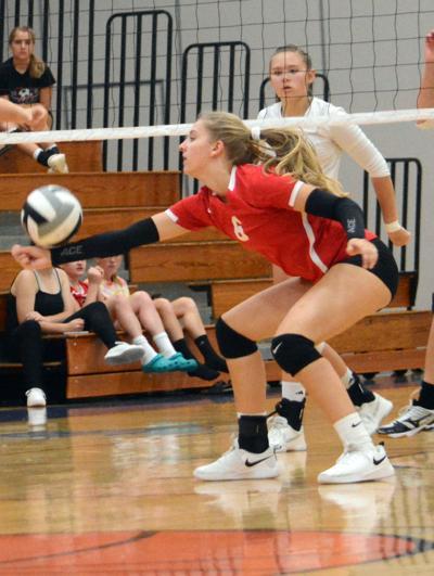 Prep girls volleyball photo: Hustisford's Autumn Kuehl