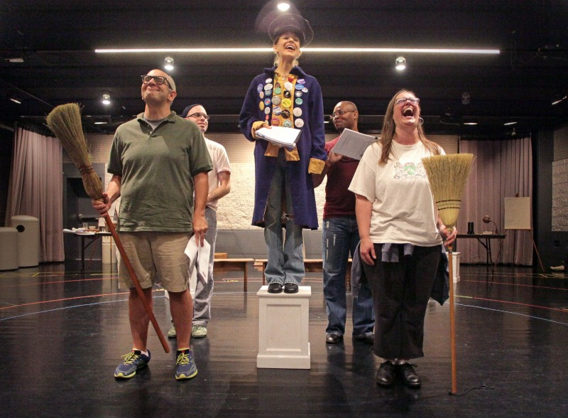 Political theater: Local group presents 2-minute snippets of