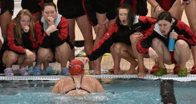 Prep girls swimming: Teamwork makes the difference as Middleton wins its own Cardinal Relays