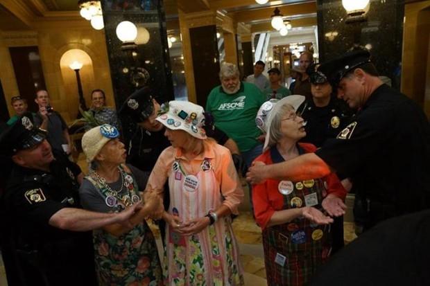 Granny arrests