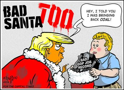 Editorial cartoon (12/21/2016)