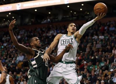 Bucks Celtics Basketball
