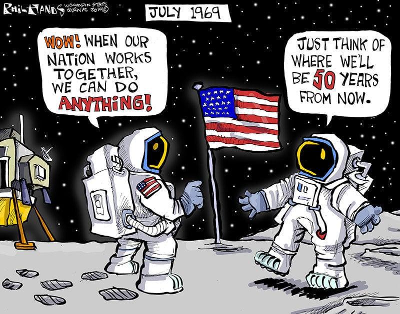 Moon landing memories still strong in Wisconsin, 50 years