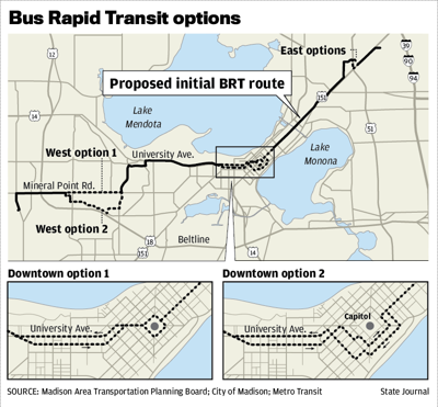 Bus Rapid Transit options
