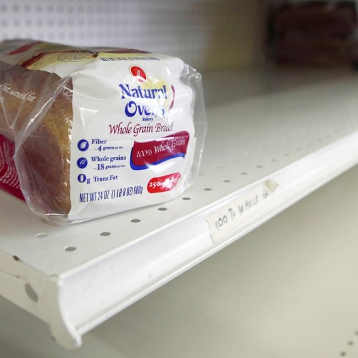 Empty shelf? As economy fuels demand at pantries, food