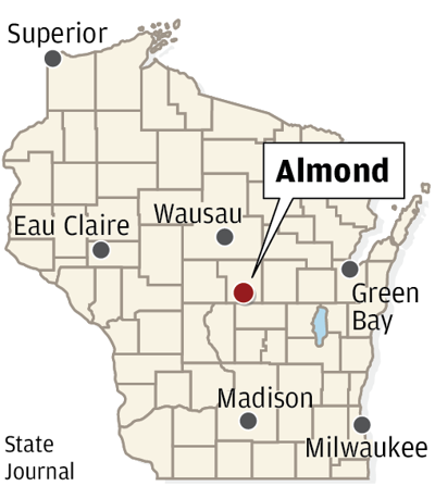 Almond Wisconsin