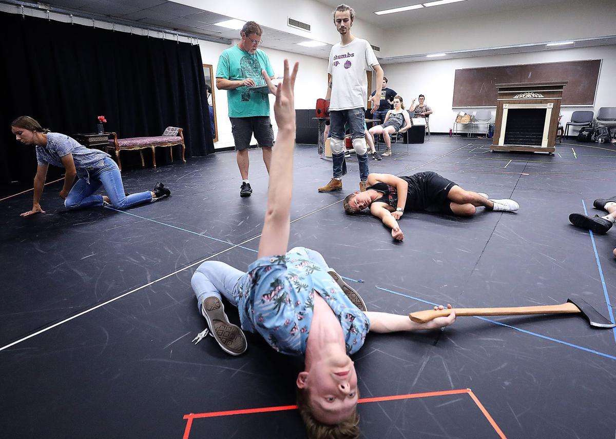Evil Dead rehearsal
