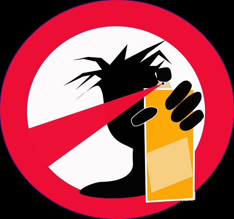 no graffiti logo