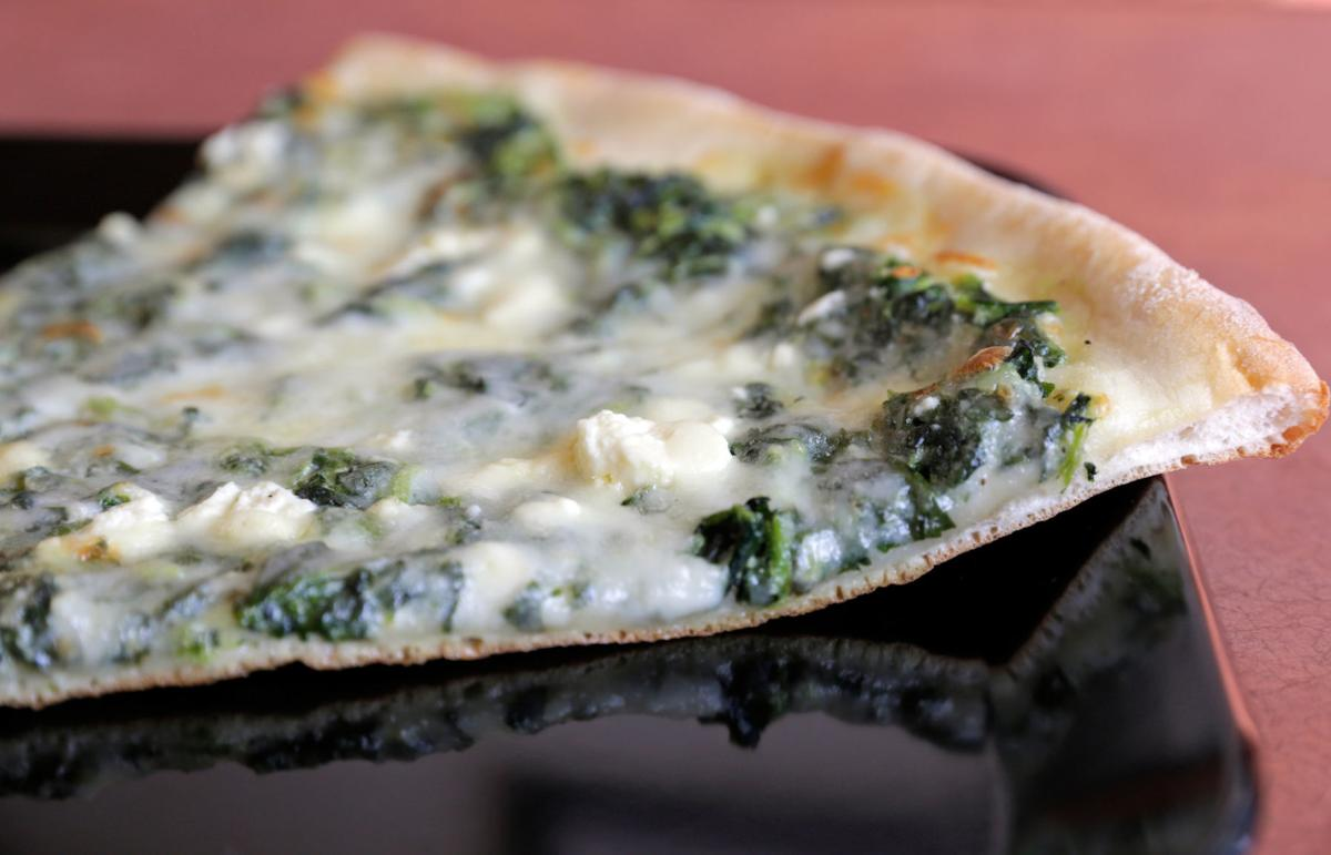 Pizza di Roma spinach feta