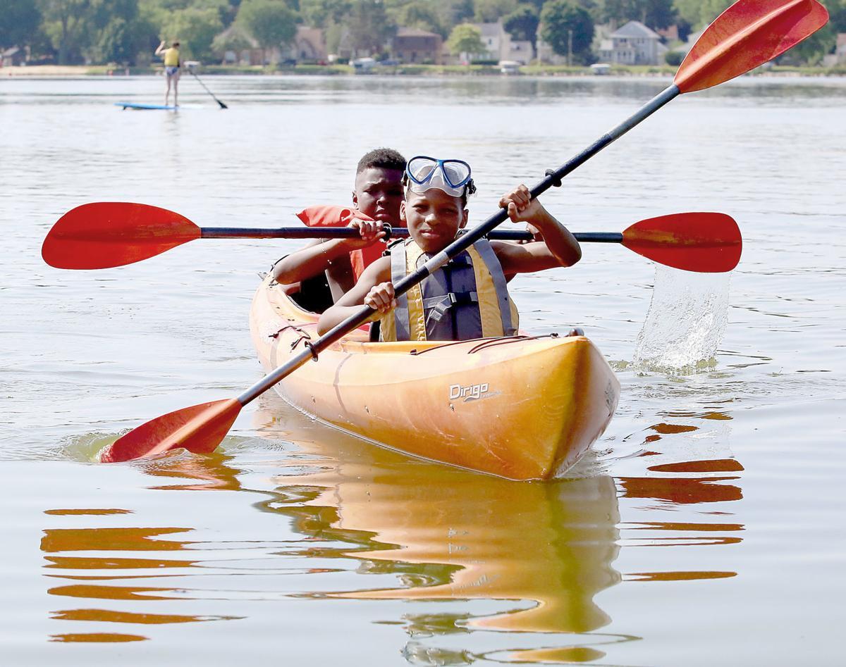 Goodman kayakers