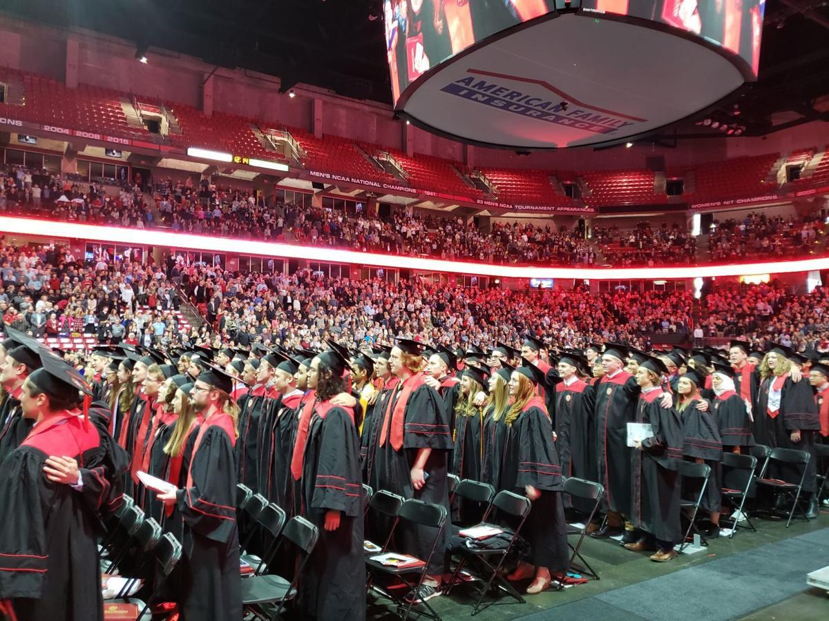 UW-Madison fall 2018 commencement ceremony