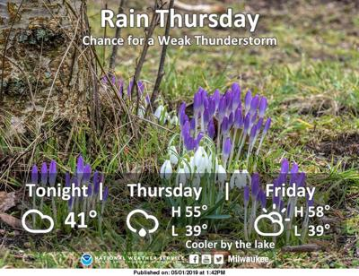 Crocus Weather And Then Some >> Rain Ending Thursday Pleasant Weekend On Tap Local Weather