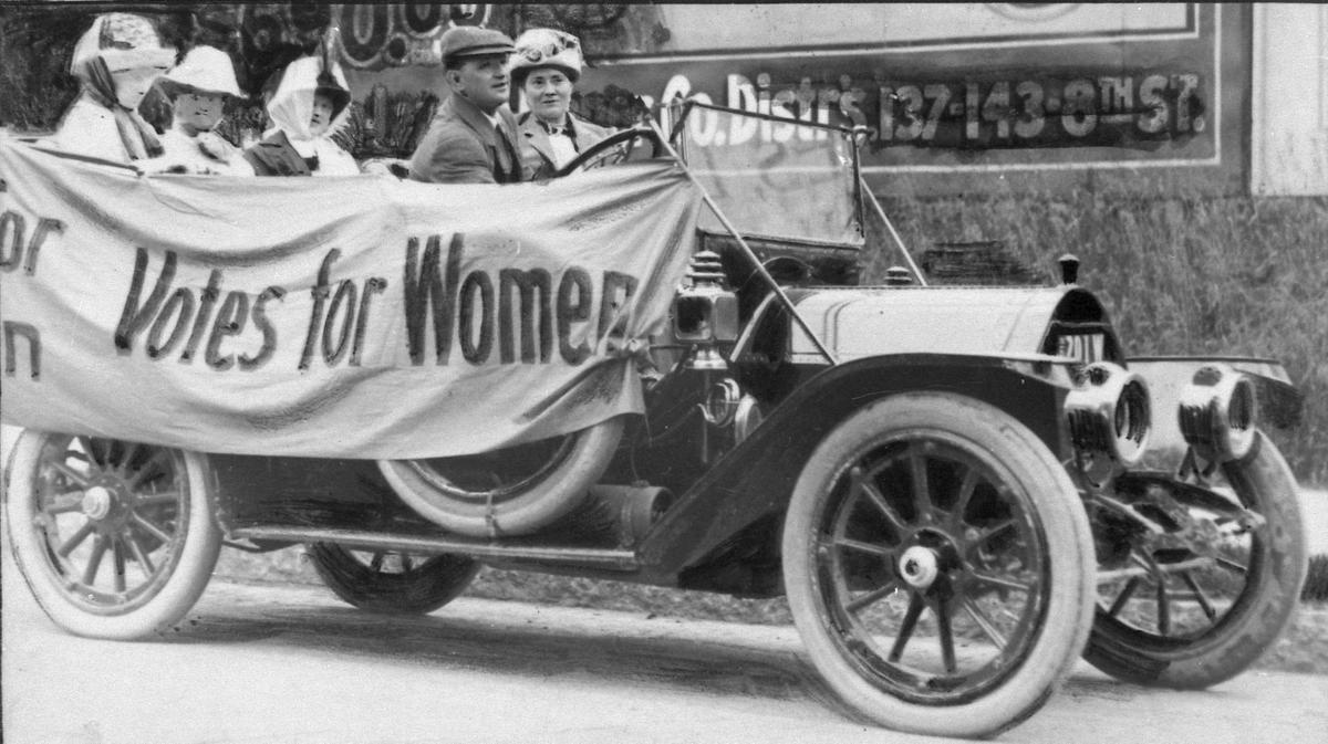 Suffrage in Milwaukee