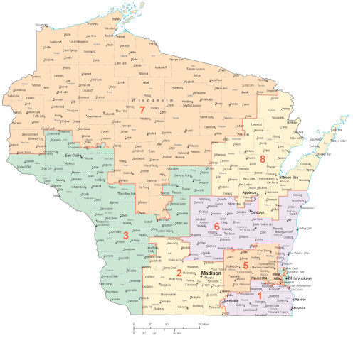 Wisconsin congressional districts