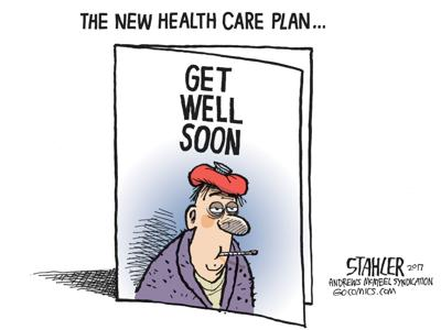 Trumpcare cartoon