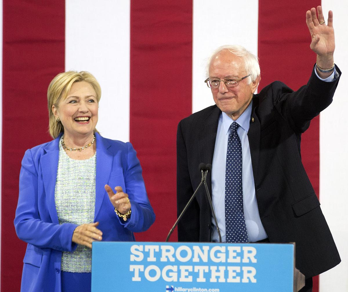 Campaign 2016 Clinton Sanders convention