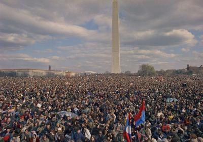 Moratorium Day in Washington 1969