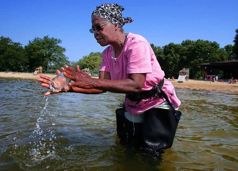 Lake Wingra water testing