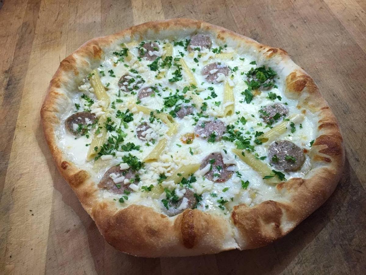 Ian's sausage pizza