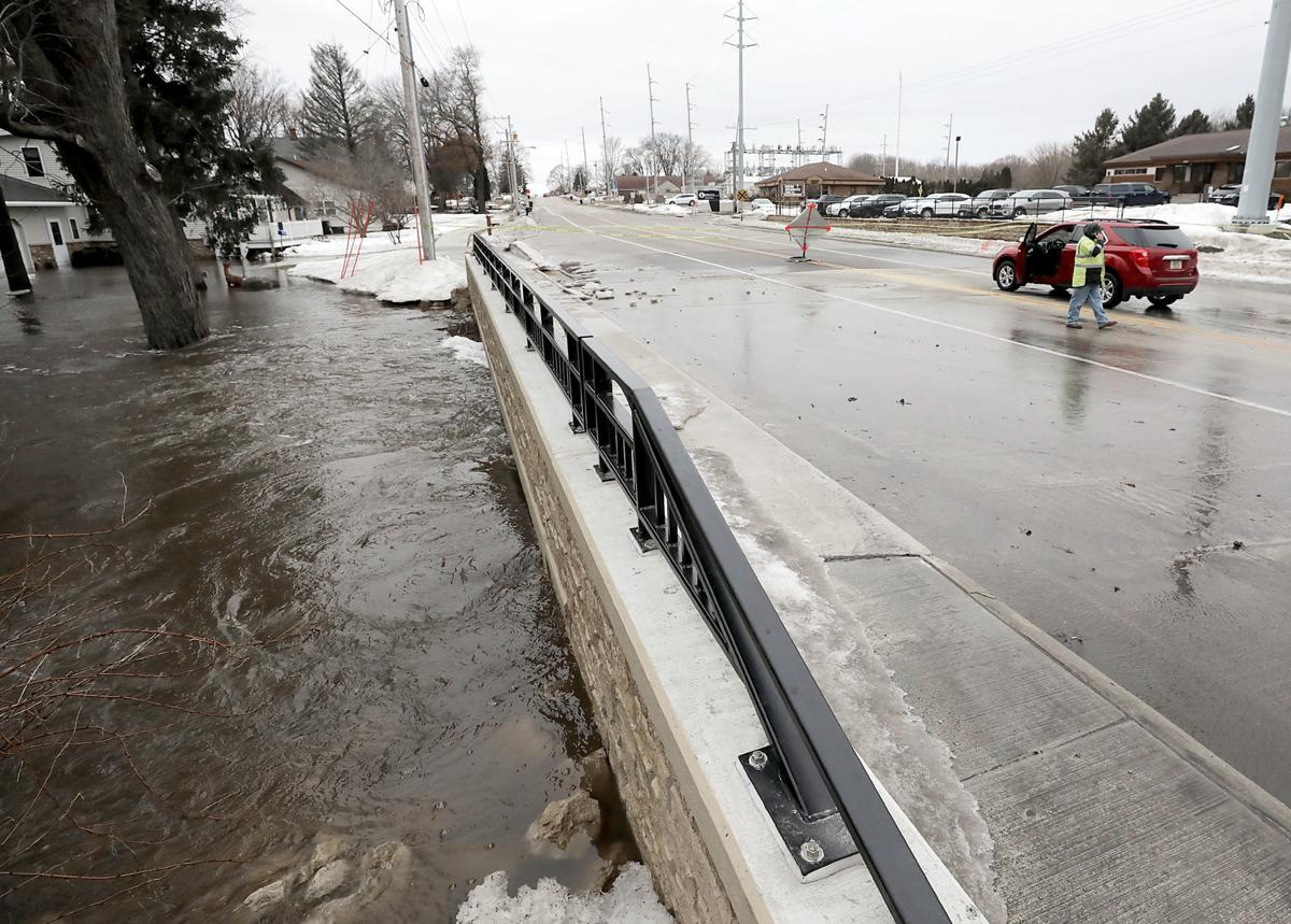 Floodwaters receding, but dozens of roads remain closed in southern