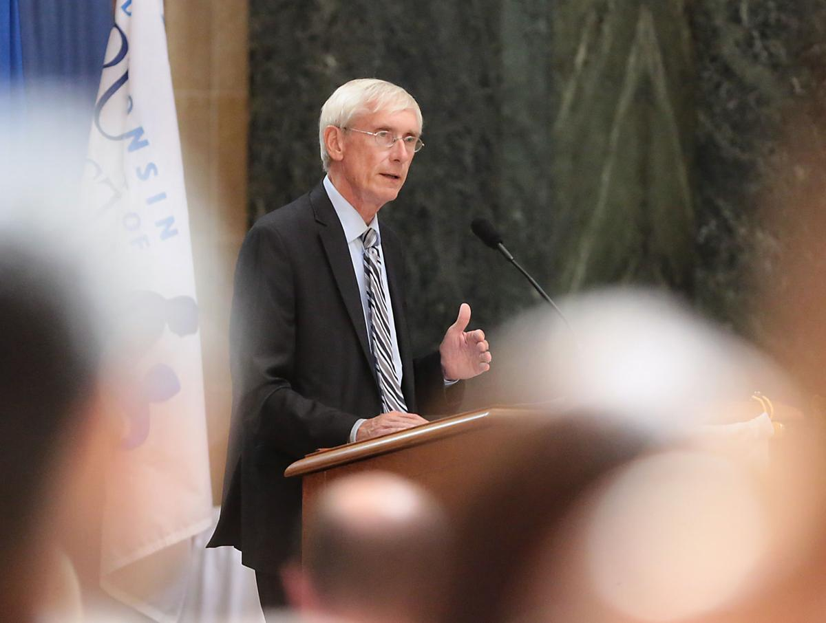 Tony Evers delivers 2017 state of education address (copy)
