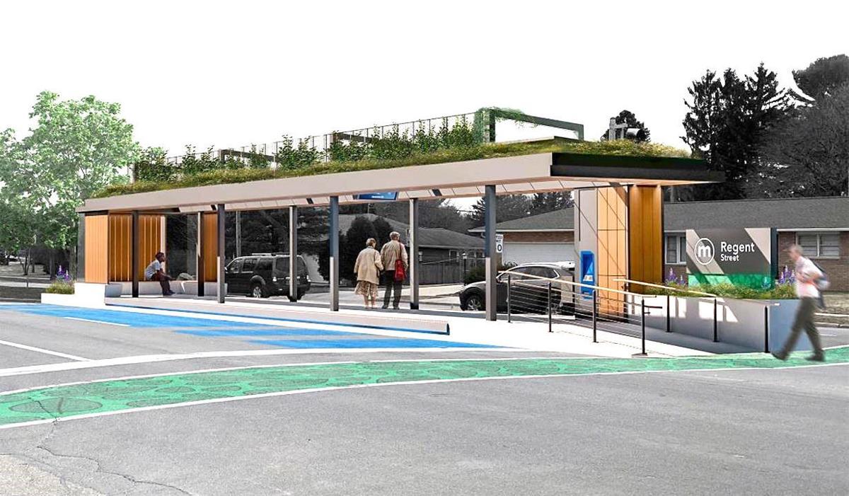 BRT station concept