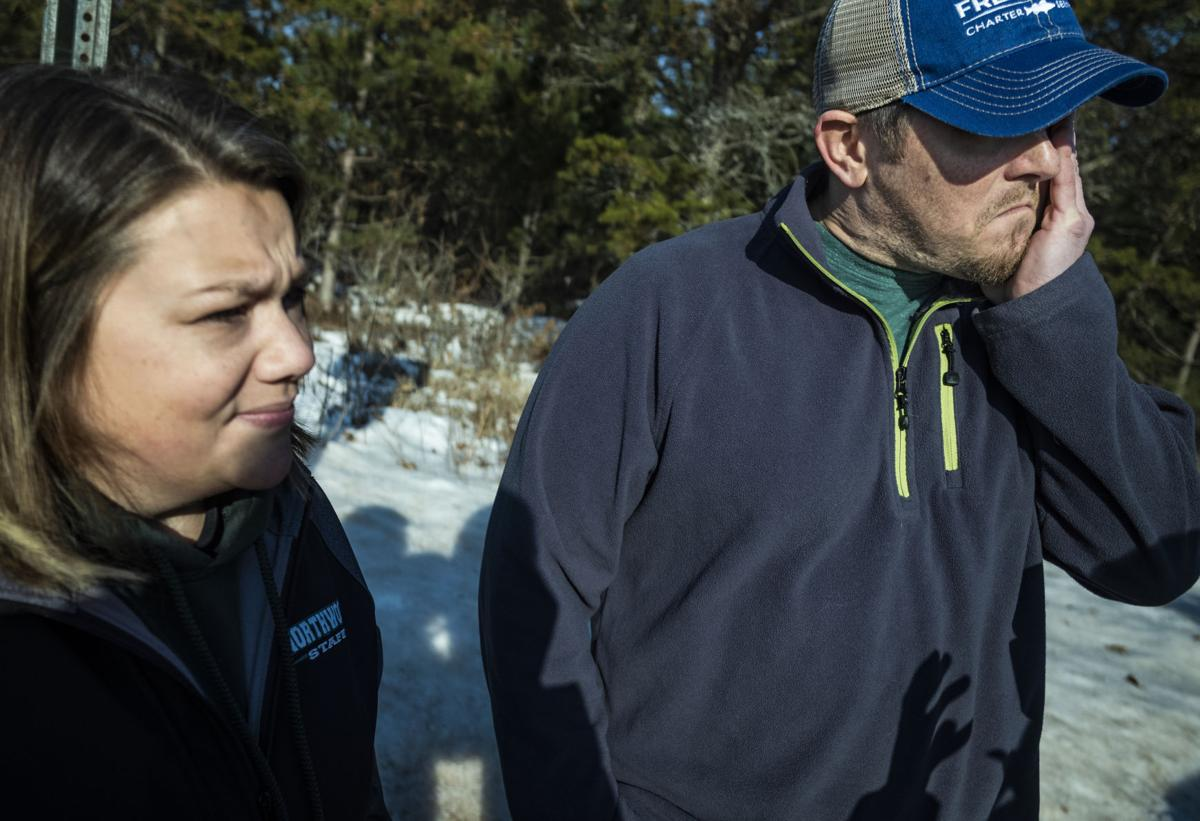 Kristin and Peter Kasinskas, couple who aided Jayme Closs, AP photo (copy)