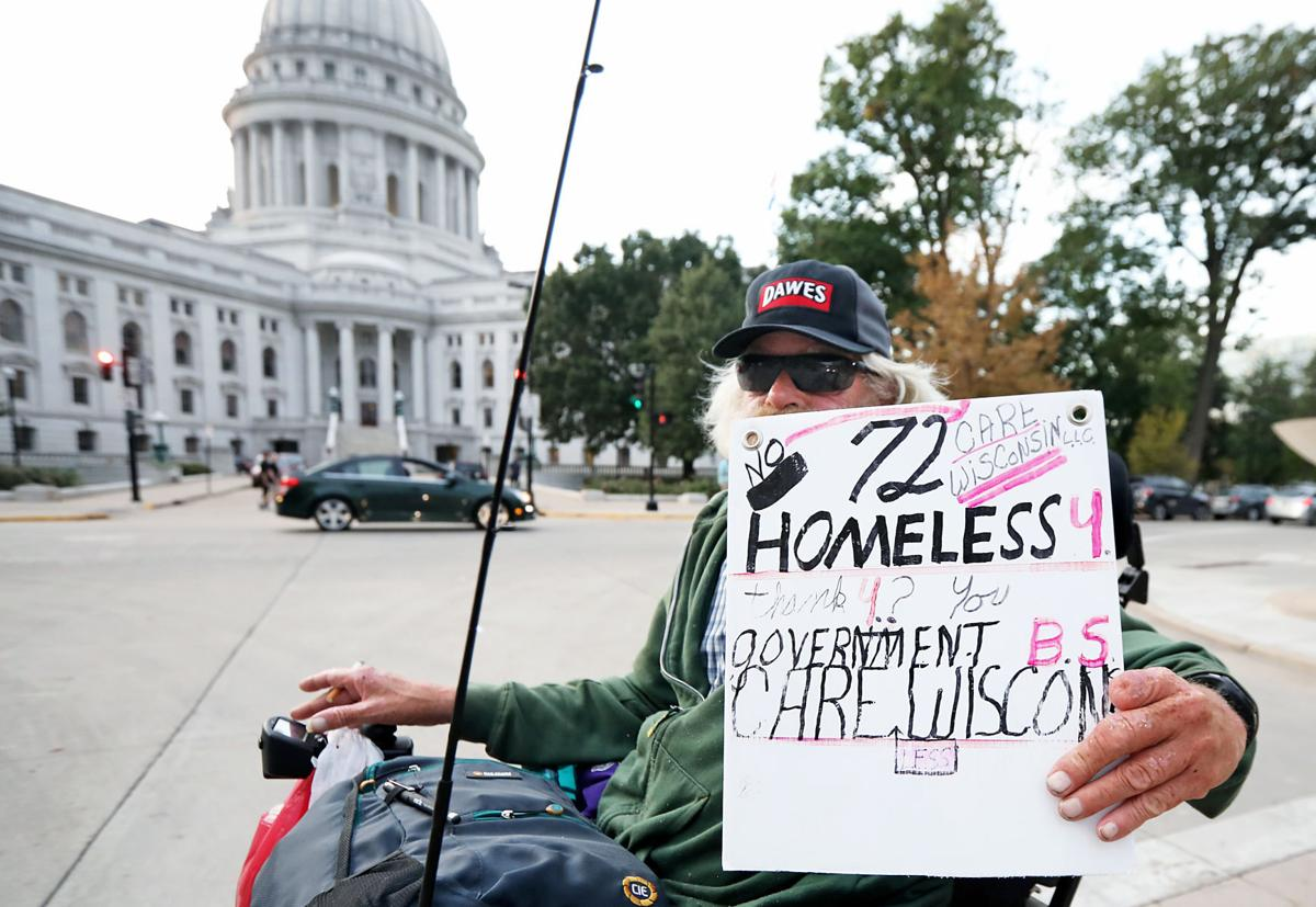 Downtown Madison homeless