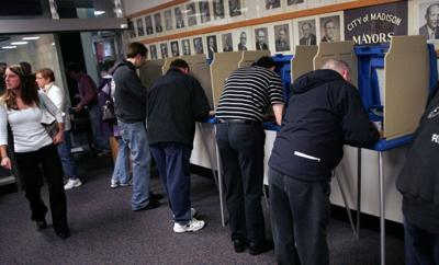 voting crowd