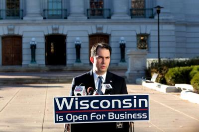 Wisconsin ranked 35th in job growth during Scott Walker's first term
