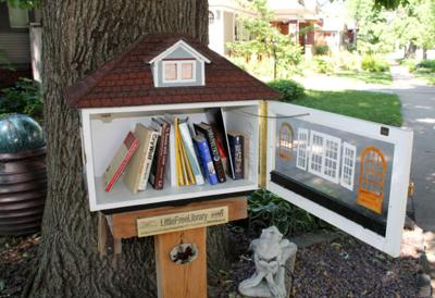 100 objects: Little Libraries