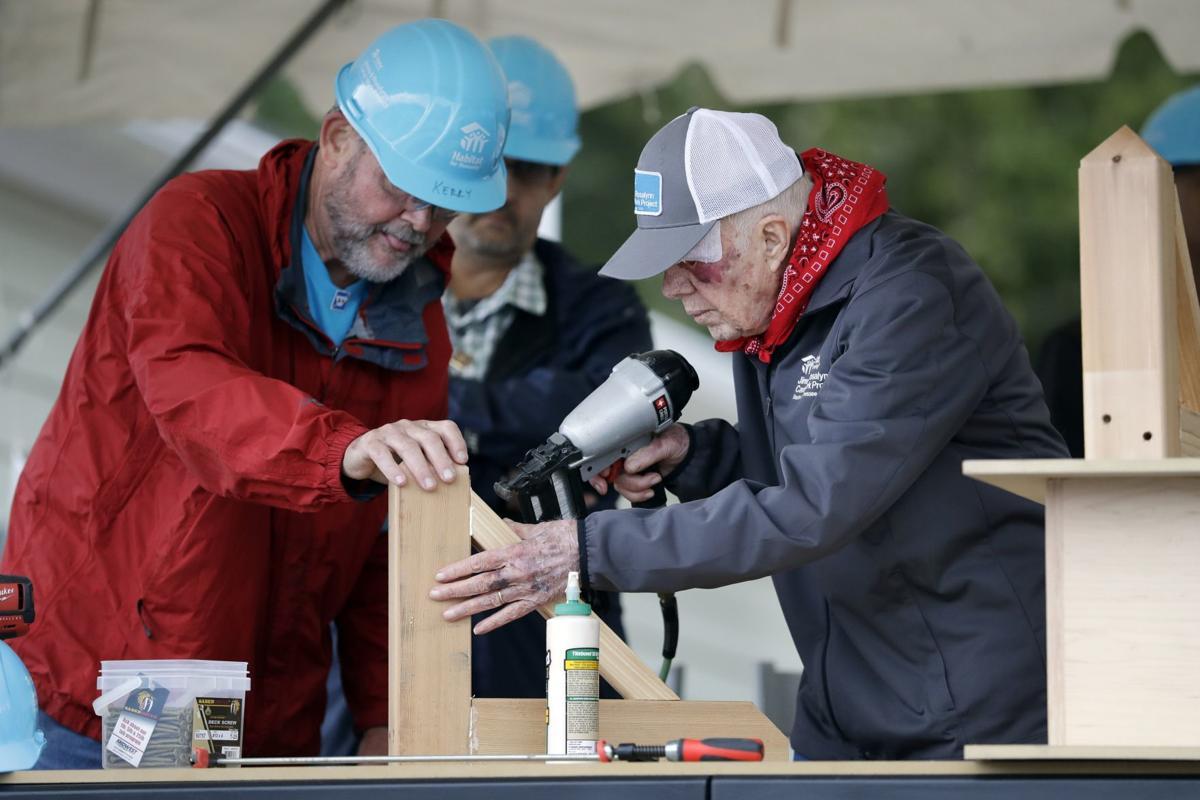 Jimmy Carter Habitat for Humanity
